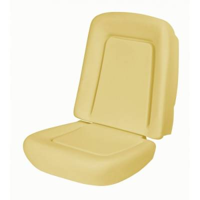 TMI Products - 1967 - 1968 Camaro Coupe, Convertible Standard Replacement Bucket Seat Foam - Image 2