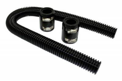 "Cooling System - Cooling Accessories - RPC - 36"" Universal Black Radiator Hose Kit"