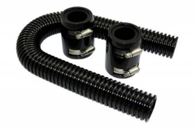 "Cooling System - Cooling Accessories - RPC - 24"" Universal Black Radiator Hose Kit"