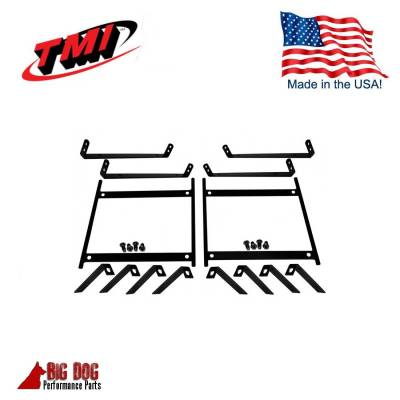 Seats & Upholstery  - Trucks - TMI Products - Pro-Series Universal Sport Seat Mounting Brackets, Pair (left & rt side)