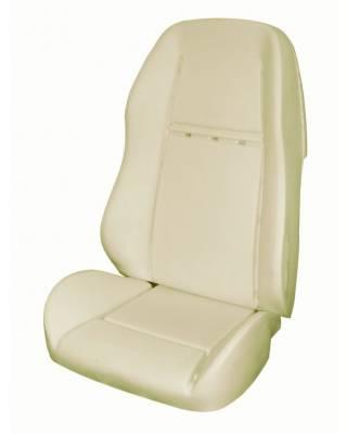 Mustang - Seat Foam - TMI Products - 1969 - 70 Mustang Mach I, Shelby Sport R, Sport II Seats Foam Seat Pad Set