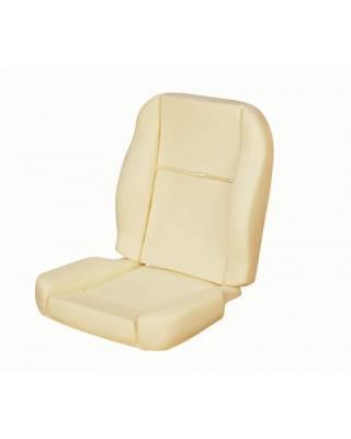 TMI Products - 1964 1/2-67 Mustang Front Bucket SeatSport Seat Foam Pad Set