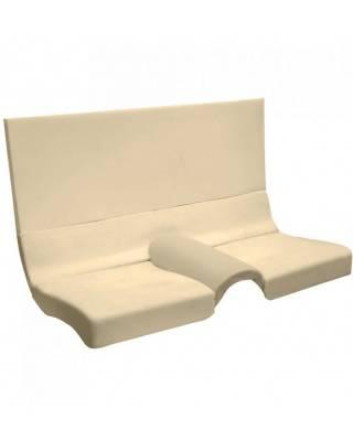 Mustang - Seat Foam - TMI Products - 1964 1/2 - 1970 Mustang Fastback (Rear Seat) Foam Seat Pad Set