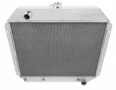 Champion Cooling Systems - Champion Three Row All Aluminum Radiator Ford F-Series/Bronco w/Chevy V8 CC833