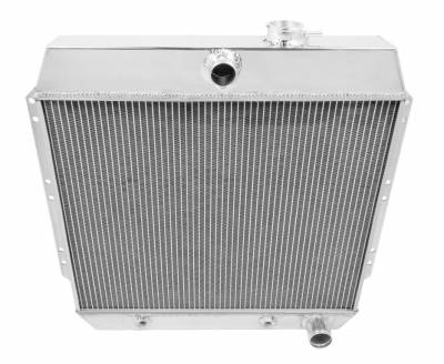 Radiators - Aluminum Radiators - Champion Cooling Systems - Champion Cooling Four Row Aluminum Radiator 1949-1954 Chevy MC4954