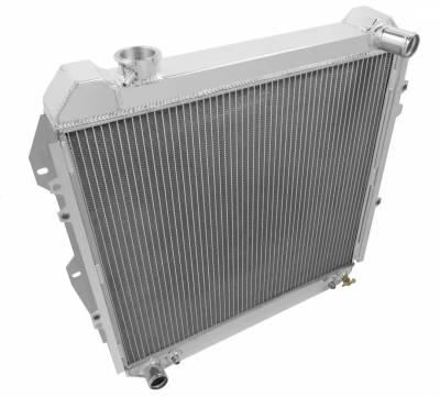 Radiators - Aluminum Radiators - Champion Cooling Systems - 1988 - 1995 Toyota Pick Up, Forerunner Three Row Champion Aluminum Radiator CC50