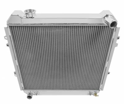 Champion Cooling Systems - 1988 - 1995 Toyota Pick Up, Forerunner Three Row Champion Aluminum Radiator CC50 - Image 2