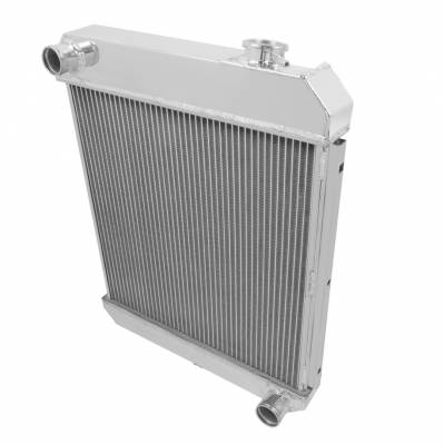 Champion Cooling Systems - Champion 2 Row Aluminum Radiator for 1960 -1966 Chevy Pick Up Trucks EC6066