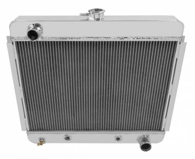 Champion Cooling Systems - Champion Two Row Aluminum Radiator EC6267 for 62 - 67 Nova