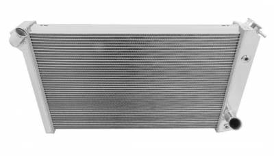 Radiators - Aluminum Radiators - Champion Cooling Systems - Champion 3 Row Aluminum Radiator for 1965 -1987 Buick, Pontiac, Olds, Chevy CC571