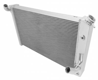 Champion Cooling Systems - Champion Cooling 3 Row Aluminum Radiator for 1973 - 1976 Corvette CC478 - Image 2