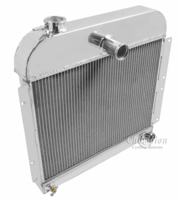 Champion Cooling Systems - Champion 3 Row Aluminum Radiator for 1941 - 1952 Plymouth Cars CC4152 - Image 2
