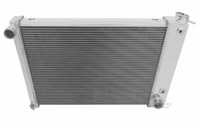 Radiators - Aluminum Radiators - Champion Cooling Systems - Champion 3 Row Aluminum Radiator for 1973 -1974 Buick, Pontiac, Olds, Chevy CC412