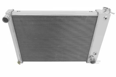 Radiators - Aluminum Radiators - Champion Cooling Systems - Champion 4 Row Aluminum Radiator for 1967 -1969 Camaro and Firebird MC370
