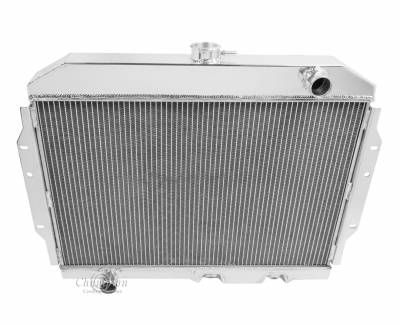 Radiators - Aluminum Radiators - Champion Cooling Systems - Champion 2 Row Aluminum Radiator for 1967 - 1974 AMC Various Models EC407