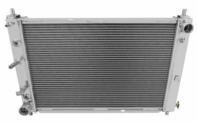 Champion Cooling Systems - Champion 2 Row Aluminum Radiator for 1997 - 2004 Mustang V8 EC2139