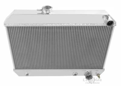 Radiators - Aluminum Radiators - Champion Cooling Systems - Champion 3 Row Aluminum Radiator for 1962 -1963 Buick Skylark CC1649