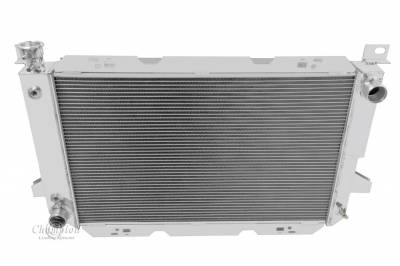 Radiators - Aluminum Radiators - Champion Cooling Systems - Champion 3 Row Aluminum Radiator for 1985 to 1997 Ford F Series CC1451
