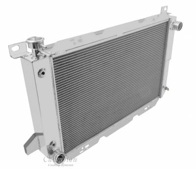 Champion Cooling Systems - Champion 3 Row Aluminum Radiator for 1985 to 1997 Ford F Series CC1451 - Image 2