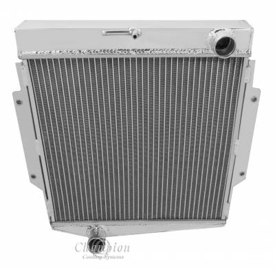 Champion Cooling Systems - Champion 3 Row Aluminum Radiator for 1965-1970 Datsun Fairlady CC1600
