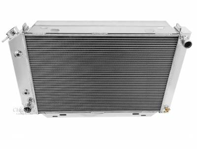 Radiators - Aluminum Radiators - Champion Cooling Systems - Champion 3 Row Aluminum Radiator for 1979 - 1993 Ford Mustang CC138