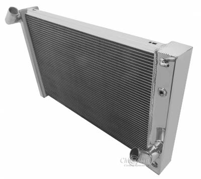 Champion Cooling Systems - Champion Cooling 3 Row Aluminum Radiator for 1969 - 1972 Corvette CC1215 - Image 2
