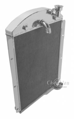 Champion Cooling Systems - 1941-1946 Chevrolet Pickup Truck Champion 3 Row Core All Aluminum Radiator CC4146 - Image 2
