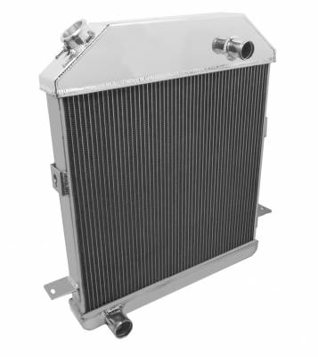 Radiators - Aluminum Radiators - Champion Cooling Systems - 1939 - 1941 Ford/Mercury with Ford Configuration CC4001FD