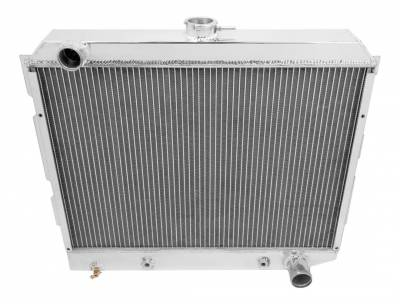 Champion Cooling Systems - Champion Two Row All Aluminum Radiator for Chrysler Mopar EC2374