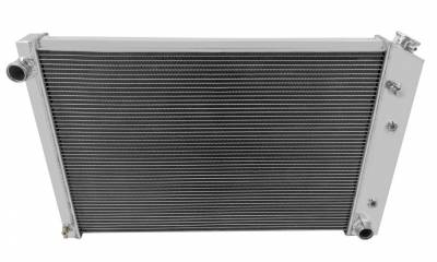 Champion Cooling Systems - Two Row Champion Aluminum Radiator for 1981 - 1990 BLAZER, JIMMY, GMC TRUCK EC716