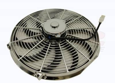 "Cooling System - CFR - 16"" High-Performance S-Blade Fan Silver"