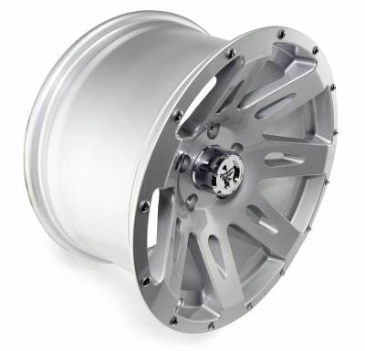 Rugged Ridge - Set of Four XHD Aluminum Wheels, Silver, 17 inch X 9 inches - Image 2