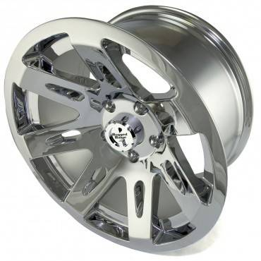 Rugged Ridge - Set of Four XHD Aluminum Wheels, Polished Chrome, 17 inch X 9 inches Fits 07 - 09 Wrangler - Image 4