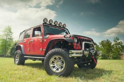 Rugged Ridge - Set of Four XHD Aluminum Wheels, Polished Chrome, 17 inch X 9 inches Fits 07 - 09 Wrangler - Image 3