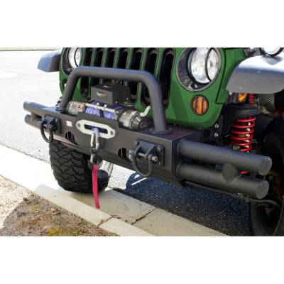 Offroad - Bumpers & Tire Carriers - Rugged Ridge - Tubular Ends for XHD Modular Front Bumper Fits 07 - 13 Wrangler
