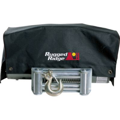 Exterior - Accessories - Rugged Ridge - Winch Cover, 8,500 and 10,500 winches by Rugged Ridge