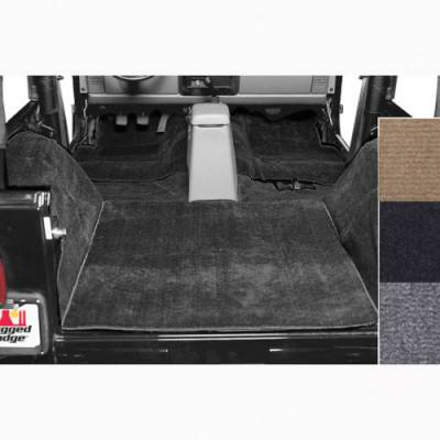 Carpet Kits - Jeep Carpet Kits - Rugged Ridge - Replacement Six-Piece Deluxe Carpet Kit 1976 - 2006 Jeep CJ/Wrangler