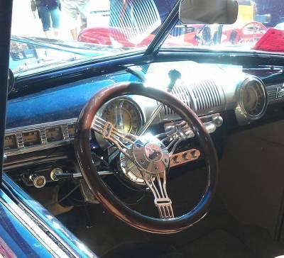 """Forever Sharp Steering Wheels - 14"""" Discord Dark Wood Steering Wheel - Image 2"""