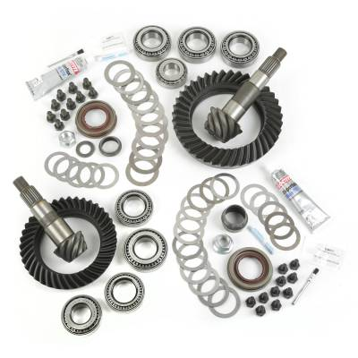 Drive Train - Ring & Pinion - Alloy USA - Jeep Wrangler JK Ring & Pinion Kit, Dana 30 and 44 Rear Ends, 4.10 Gear Ratio