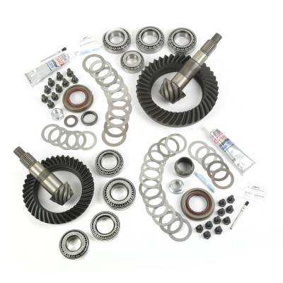 Drive Train - Alloy USA - Jeep Wrangler JK Ring & Pinion Kit, Dana 30 and 44 Rear Ends, 5.13 Gear Ratio