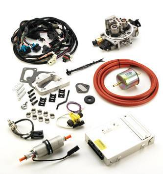 Fuel System - EFI Conversion Kits - Howell Engine - EFI Conversion Kit Version CARB EO #D452 1987-91 YJ Wrangler 4.2L Emissions Legal