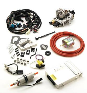 Fuel System - Howell Engine - TBI Kit for 1972-93 304, 360, 401 V-8 Jeep/AMC - Emissions Legal
