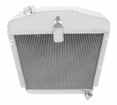 Champion Cooling Systems - Champion Cooling Three Row Aluminum Radiator CC4749 for 47 - 49 Plymouth