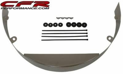 Cooling System - CFR - Universal Chrome Steel Radiator Fan Shroud