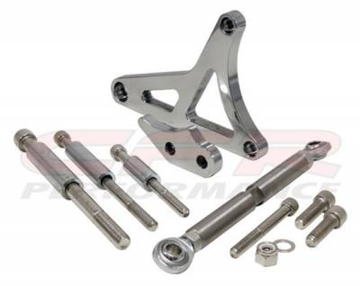 Engine - Pulleys & Brackets - CFR - Alternator Bracket Set for 1979 to 1993 Ford Mustang 5.0 Polished Billet Aluminum