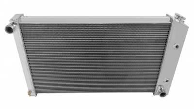 Radiators - Aluminum Radiators - Champion Cooling Systems - Champion Cooling Four Row Aluminum Radiator for Firebird/Trans Am MC477