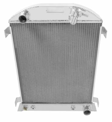 Champion Cooling Systems - Champion Cooling Three Row Aluminum Radiator for 32 Ford CC3132