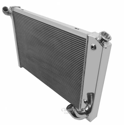 Champion Cooling Systems - Champion Two Row Aluminum Radiator for 1969- 1972 Corvette EC1655 - Image 2