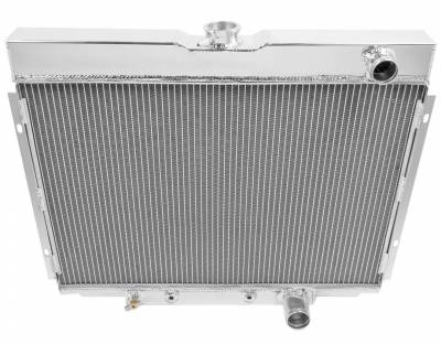 Champion Cooling Systems - Champion Three Row All Aluminum Radiator CC338 1967 to 1969 Ford Mustang, Cougar, Fairlane