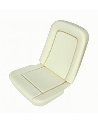 TMI Products - 1964 1/2-66 Mustang Front Bucket Seat Standard Foam Seat Pad Set